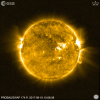 LYRA observes a strong solar flare in its Herzberg channel!