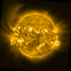 A large solar eruption that occurred 2014-Oct-14 as seen by SWAP.