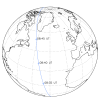 PROBA2's Trajectory, First Eclipse