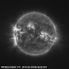 X4.9 flare seen by the SWAP imager on-board PROBA2